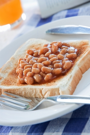 Breakfast Baked Beans Stock Photo - 14247673