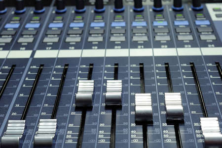 Mixer console  photo