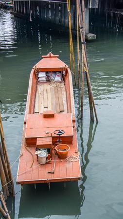 fishingboat: Thailand Small Fishing boats in the harbor