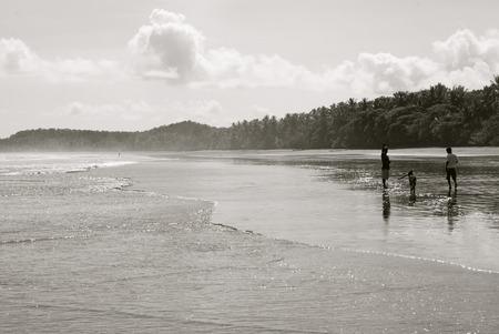 costa: Uvita beach in Costa Rica