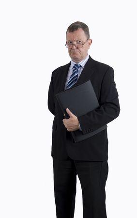 director de escuela: Administrador de Banco Foto de archivo