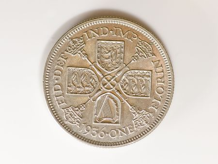 coinage: British Pre decimal coinage, Florin 1936
