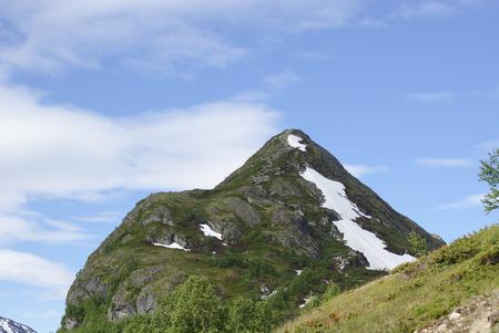 jotunheimen national park: Top of mountain in Jotunheimen national park, Norway Stock Photo