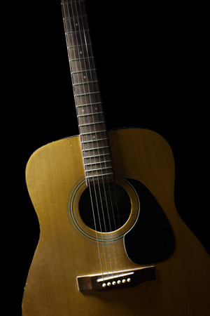avocation: The wooden guitar.