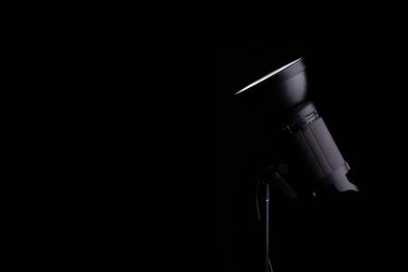 monolight: The new flash studio light. Stock Photo