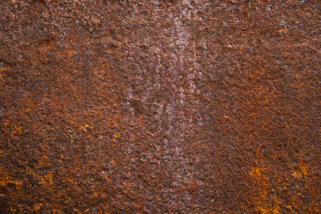Metal is red rust texture background.
