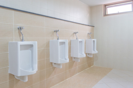 clean office: New modern of toilet room. Stock Photo