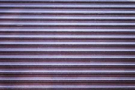 security shutters: Abstract background texture of scuffed shop shutters