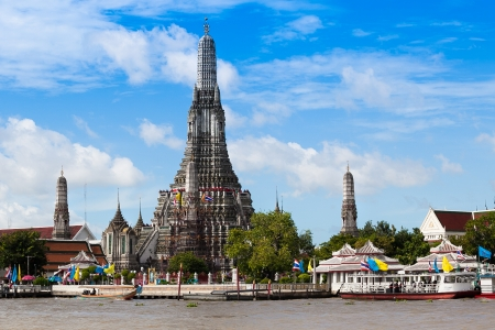 Wat Aroon one of landmark of Bangkok
