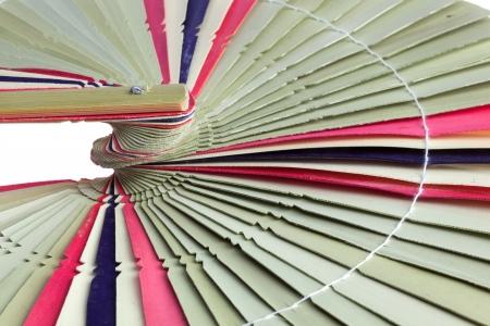 traditiional: Traditiional fold fan made of dry palm leaves