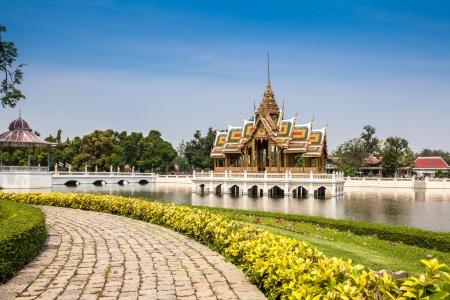 pa: Landscape of Bang Pa In palace