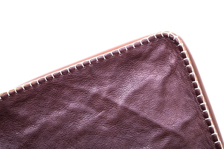 partitions: Close up of brown leather texture