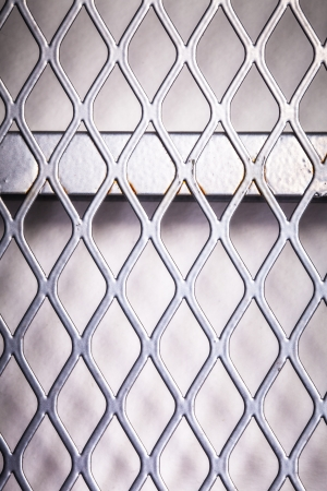 Close up of metal net Stock Photo - 20927748