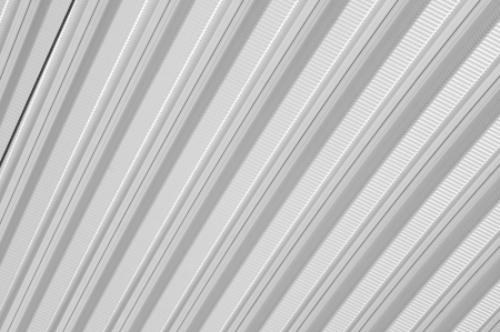 Pattern of matal sheet roof in black and white color Stock Photo - 20927792