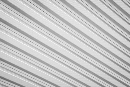 Pattern of matal sheet roof in black and white color Stock Photo - 20927758