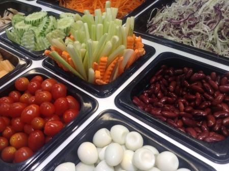 preperation: Preperation set for salad Stock Photo