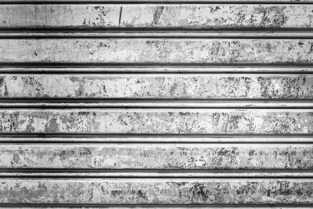 Backgroud of  grunge corrugated metal Stock Photo - 23680887