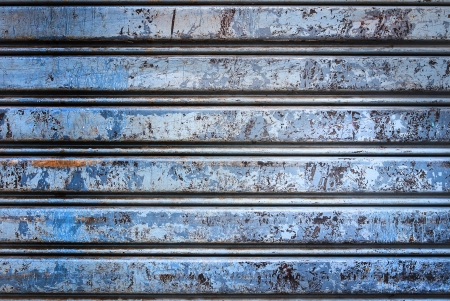 Backgroud of  grunge corrugated metal Stock Photo - 23680634