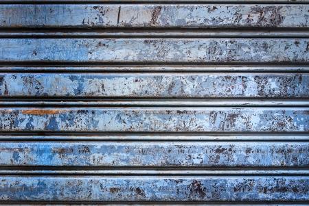 Backgroud of  grunge corrugated metal Stock Photo - 23680634