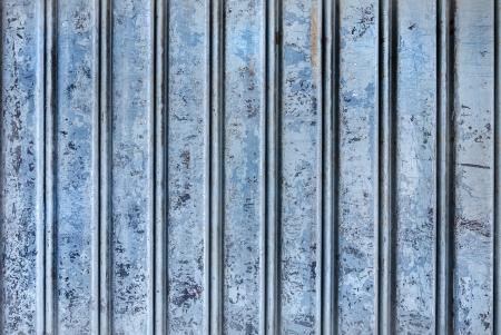 Backgroud of  grunge blue corrugated metal Stock Photo - 23680637