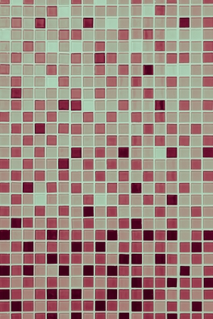 Modern brown tile wall background photo