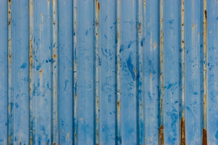 Backgroud of grunge corrugated metal photo
