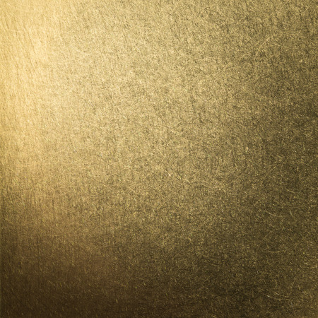brushed metal gold plate background photo