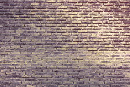 brick wall: Pattern of old vintage brick wall