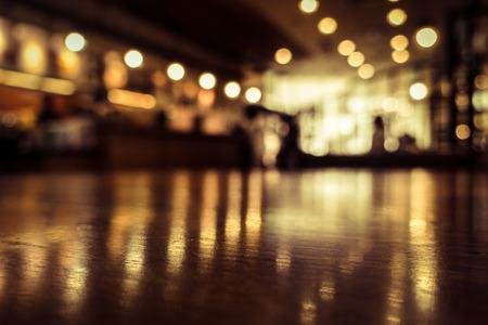 Blur o Defocus immagine di Coffee Shop o Caffetteria per l'uso come sfondo Archivio Fotografico - 40346909