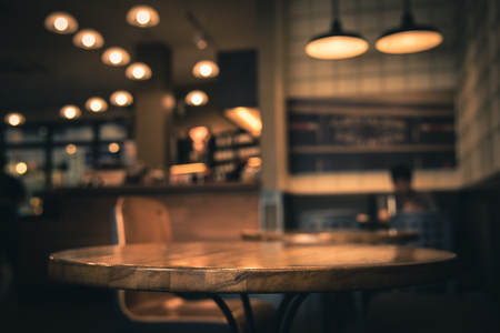 coffeeshop: Blur or Defocus image of Coffee Shop or Cafeteria for use as Background