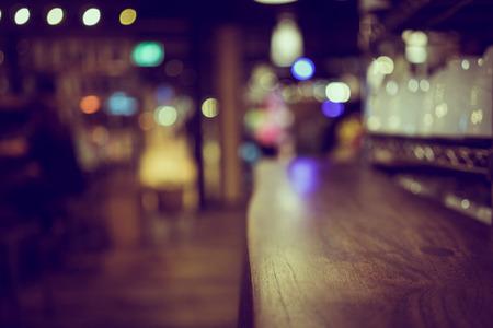 Blur Defocus oder Bild Café oder Cafeteria für die Verwendung als Hintergrund Standard-Bild - 44584718