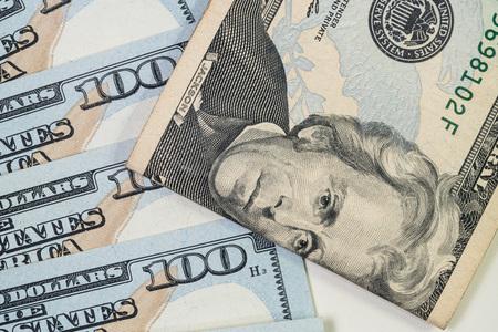 dollaro: Le banconote in dollari per il concetto di business e della finanza