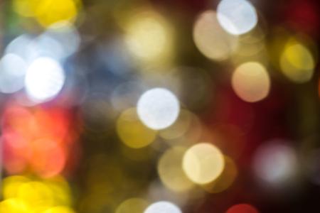 defocus: Defocus or blured Christmas decoration boken