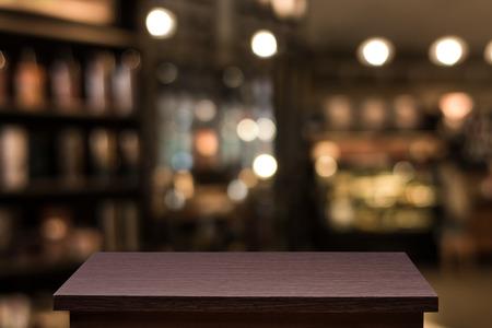 Blur Defocus oder Bild Café oder Cafeteria für die Verwendung als Hintergrund Standard-Bild - 54329139