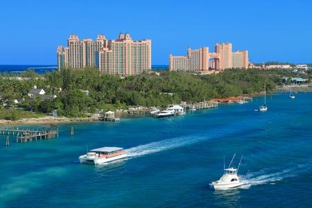 Atlantis en Paradise Island en Nassau, Bahamas. photo