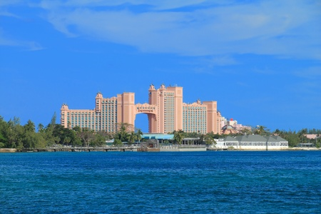 Atlantis on Paradise Island in Nassau,Bahamas.