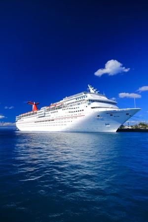 Bahamas Pier Landschaft in Nassau Stadt, der Karibik Standard-Bild - 12767682