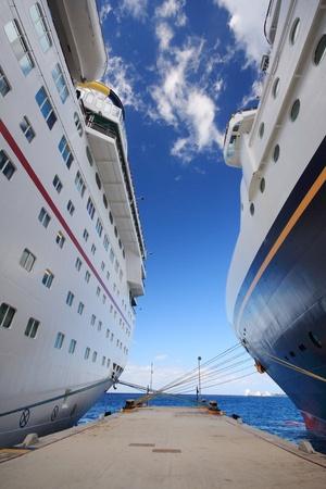 cozumel: Cozumel muelle con el buque en M�xico