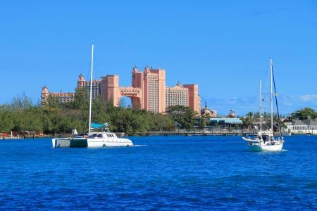 Hotel Atlantis en Paradise Island en Nassau, Bahamas. photo
