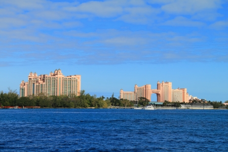 Atlantis hotel on Paradise Island in Nassau, Bahamas. photo