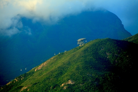 cuntry: Hight mounten and green tropical jungle , Thailand