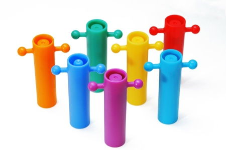 Color full toy on white background. Stock Photo - 19079546
