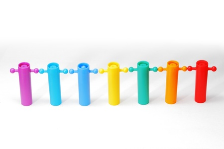 Color full toy on white background. Stock Photo - 19079529