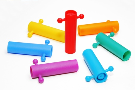 Color full toy on white background. Stock Photo - 19079549