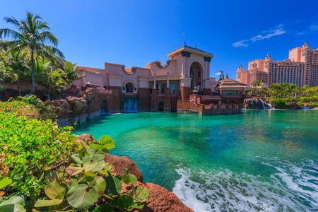 Hotel Atlantis auf Paradise Island in Nassau, Bahamas. Standard-Bild - 32353770