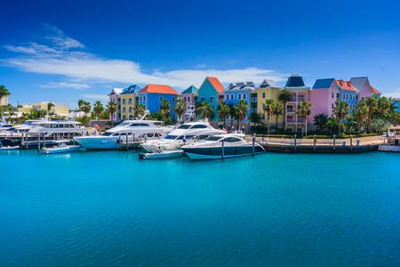 Hôtel Atlantis sur Paradise Island à Nassau, aux Bahamas.