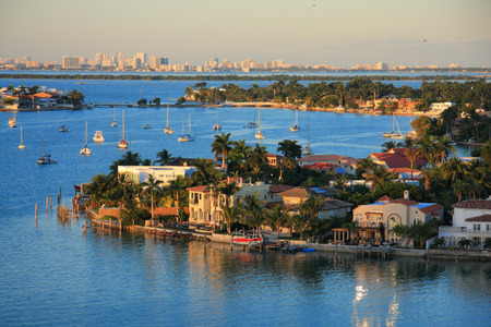 Bahamas Pier Landschaft in Nassau Stadt, der Karibik Standard-Bild - 33920212