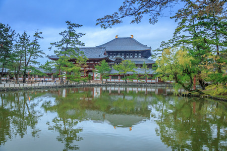 The beauty of the temples in Japan.