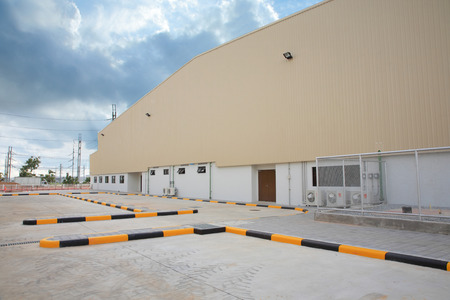 parking facilities: Large Parking facilities clean factory