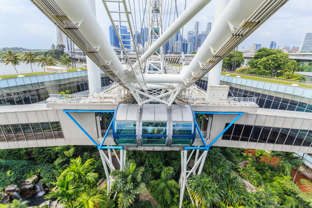marry go round: singapore flyer For aerial views of the city.